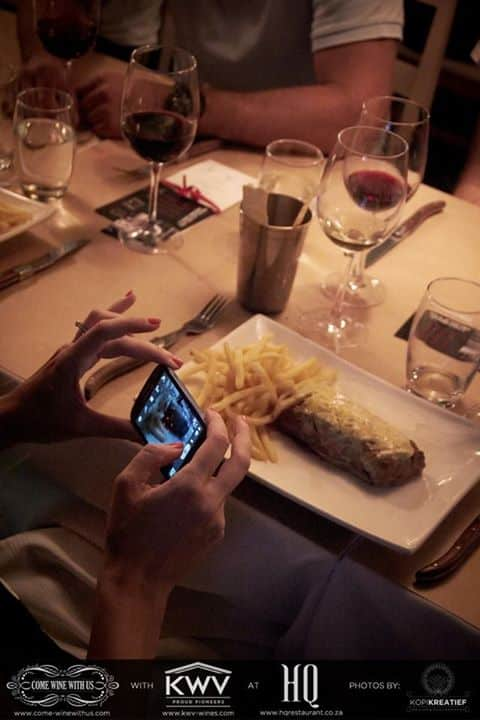 Instagramming My Steak!
