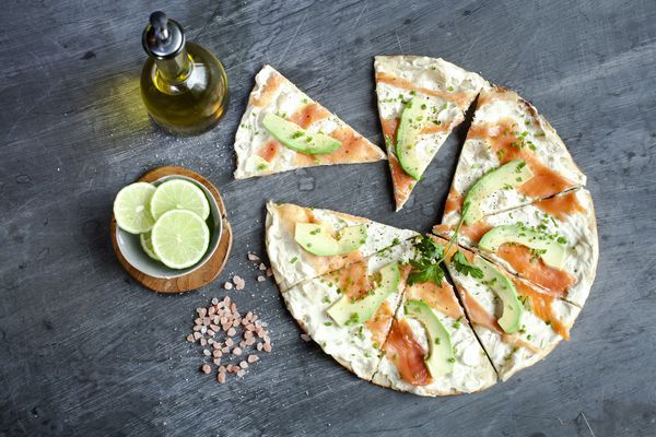 Sotano_Flat Bread - Salmon Cream Cheese Avo