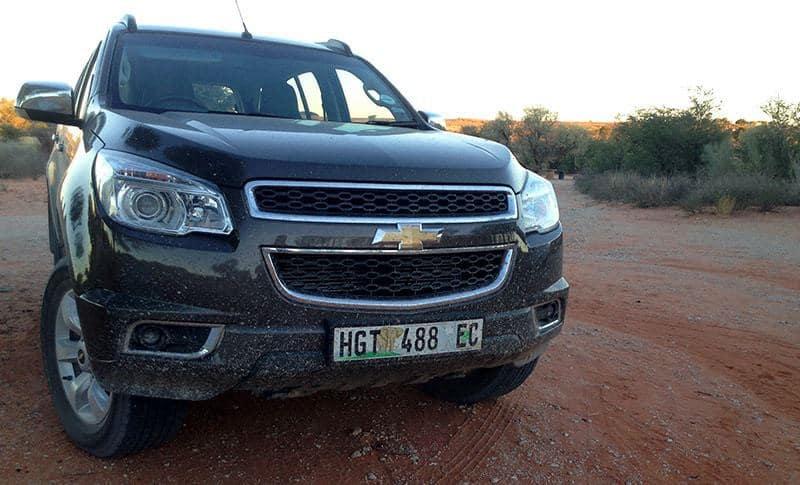 Chevrolet Trailblazer 3 - Kgalagadi Transfrontier Park
