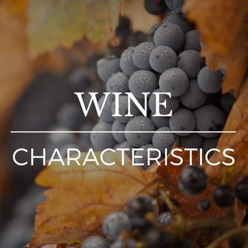 Jordan wine estate Characteristics