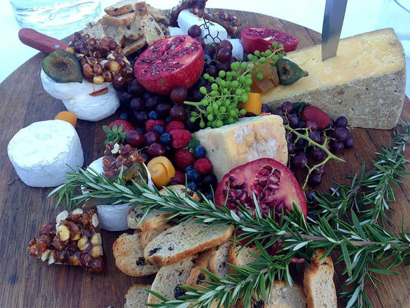 Incredible Cheese Boards in the Vineyards