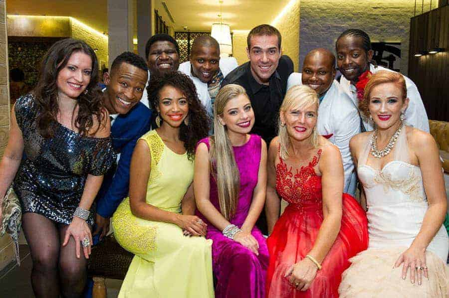 VUTS2016 - Full cast Cornelia Patzlsperger, Katlego Maboe, Lynelle Kenned, Sabrina Alves, Barbara Lenhard, Magdalene Minnaar, The Gugulethu Tenors and Jonathan Roxmouth
