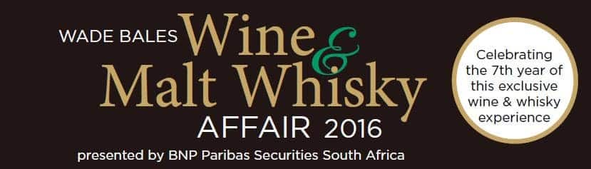 Wade Bales Wine And Whisky Affair