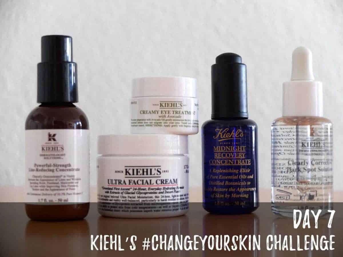 Kiehl's #ChangeYourSkin Challenge - Day 7