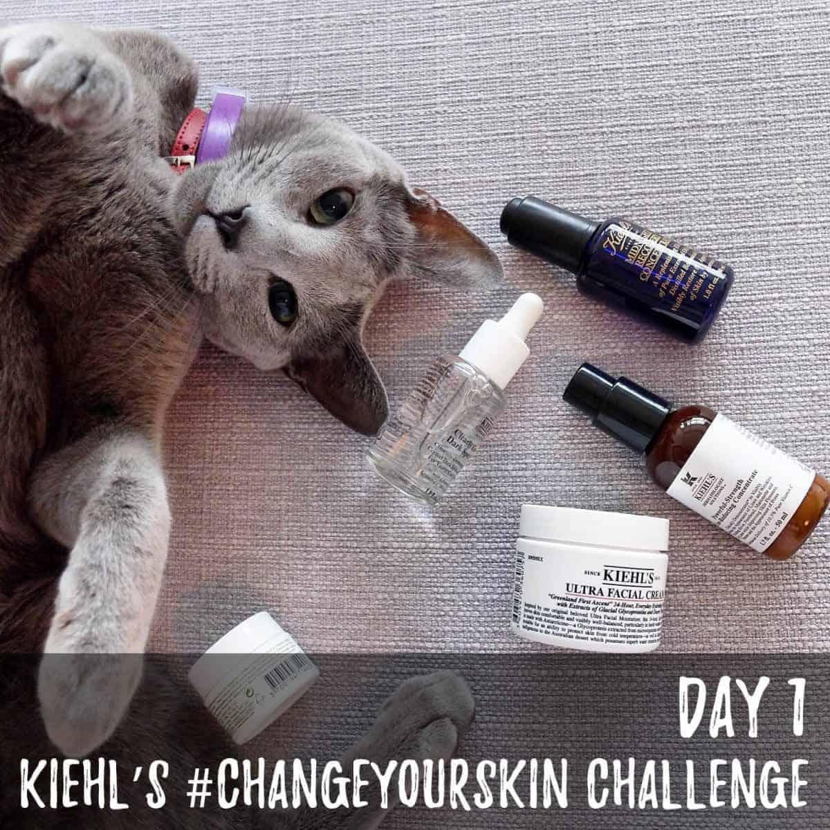 Kiehl's #ChangeYourSkin Challenge