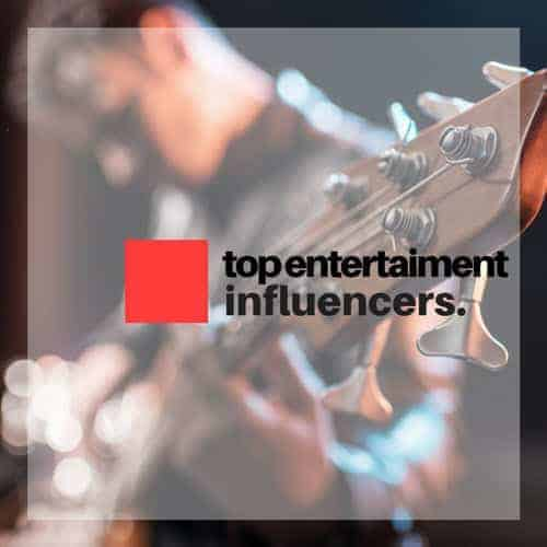 Entertainment influencers