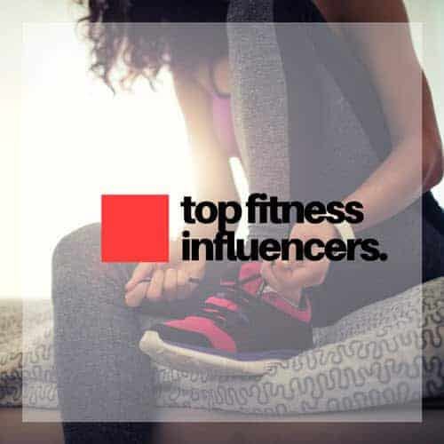 Fitness influencers