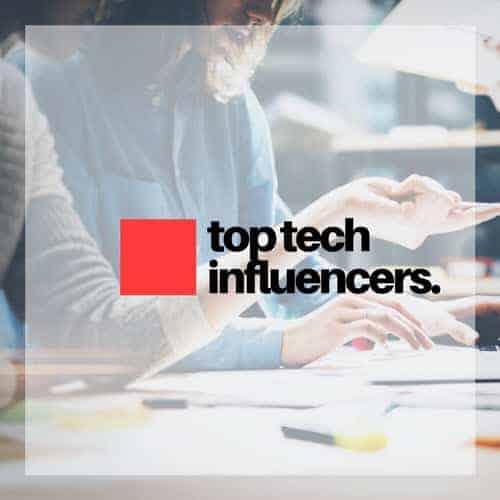 Top tech influencers