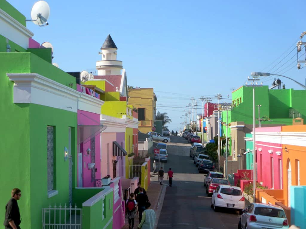 Bo kaap neighbourhood Cape Town