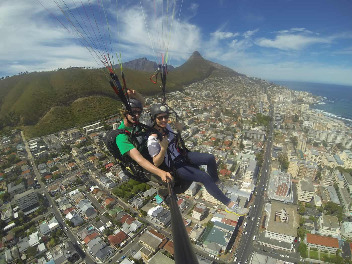 Paragliding at Signal Hill