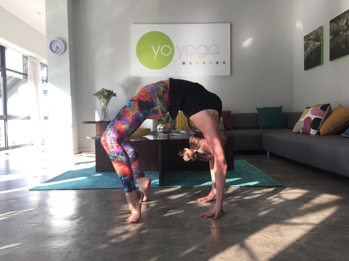 Yo yoga studio Cape Town