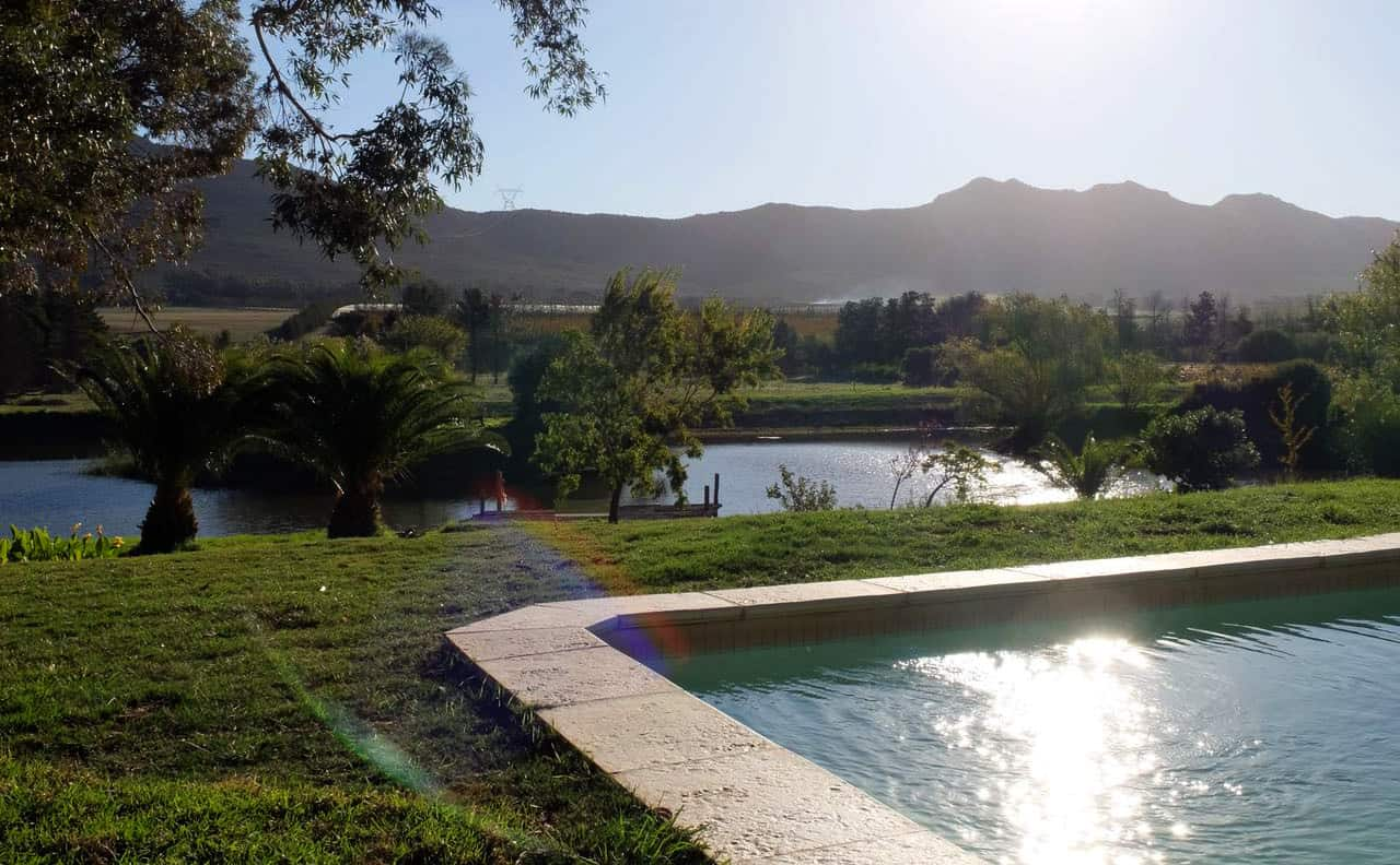 Kloofzicht pool and dam