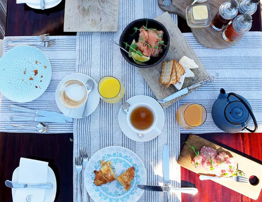 Tintswalo breakfast