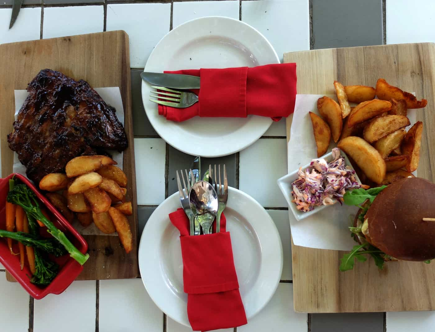 Tubagh boutique hotel lunch