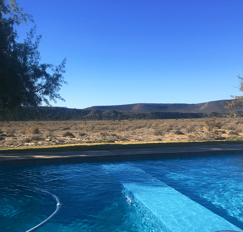 Pool at gondwana