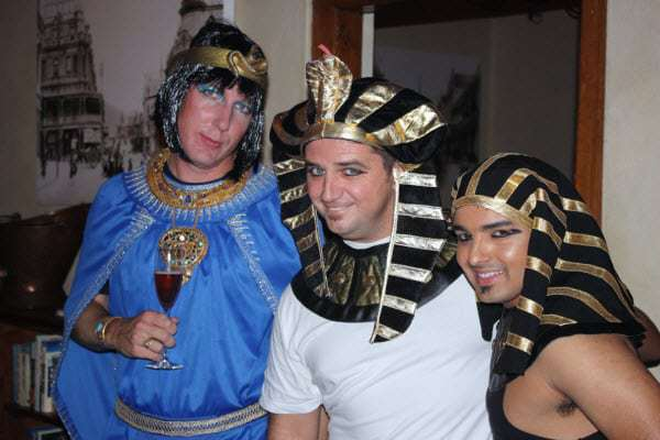 Cleopatra and King Tutankhamuns