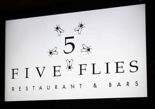 Five Flies Cape Town Restaurant