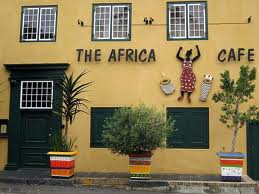 Restaurants in Cape Town: Africa Cafe
